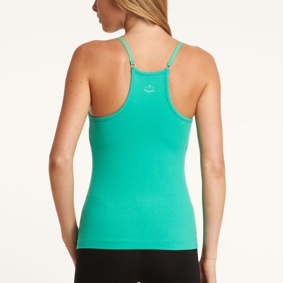 Beyond Yoga Tops - Beyond Yoga Orginal Shelf Bra Cami   Turquoise   S